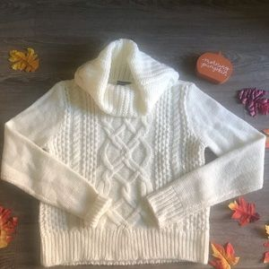 Express ivory sweater